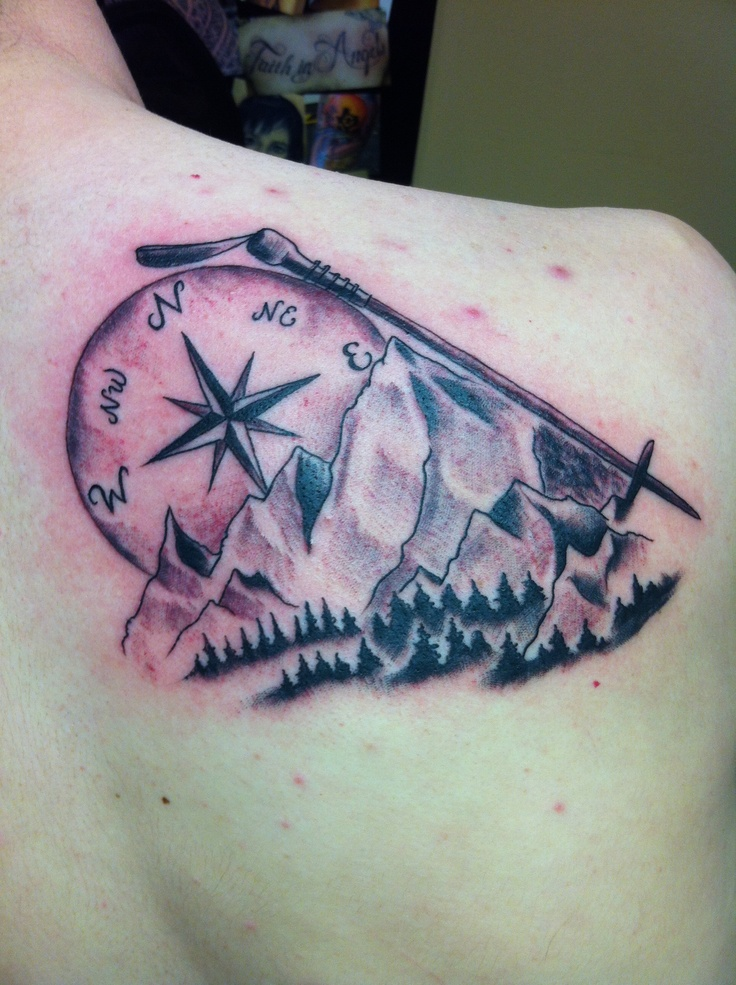 He got this tattoo to represent the time he and his dad for Best tattoo artist in fort worth