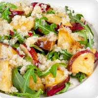 ... salad with grapefruit vinaigrette apple parmesan and mixed green salad