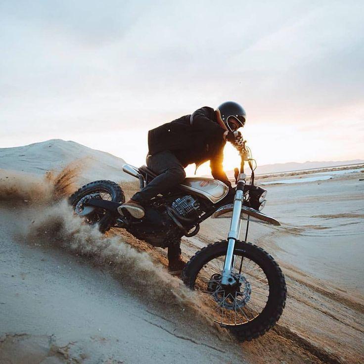 By Alex Strohl for @epidemic_motors & # 39; Yamaha #lordofwheel #builtnobought #…