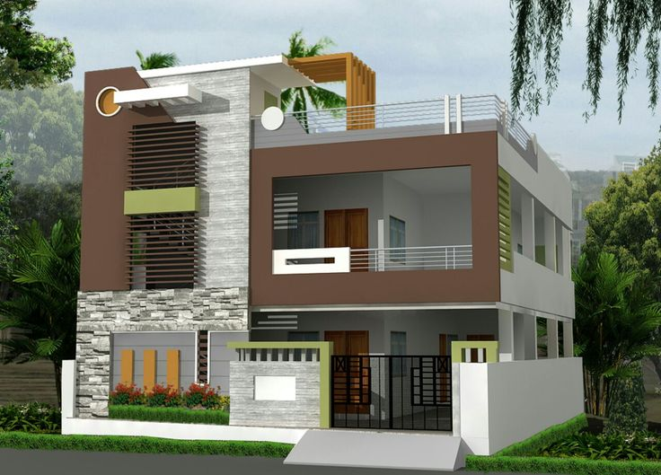 Front Elevation Designs Independent Houses : Best house elevation design indian images on pinterest