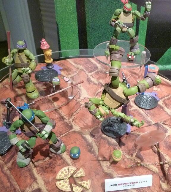 ToyzMag.com » Revoltech lance des figurines Tortues Ninja