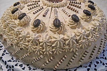 Mokka - Sahne - Torte (Rezept mit Bild) von nasch_katze | Chefkoch.de