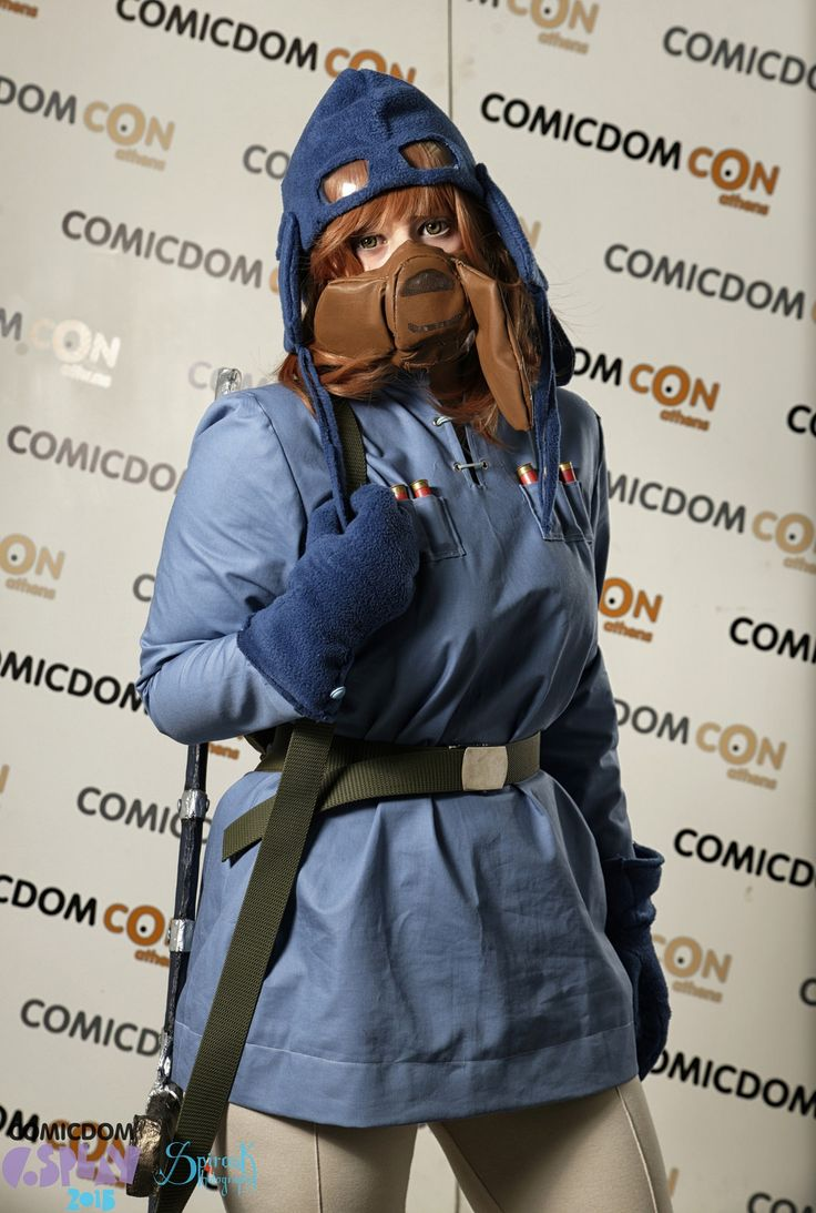 Nausicaa of the Valley of the Wind | Comicdom Con Athens 2015 #Cosplay