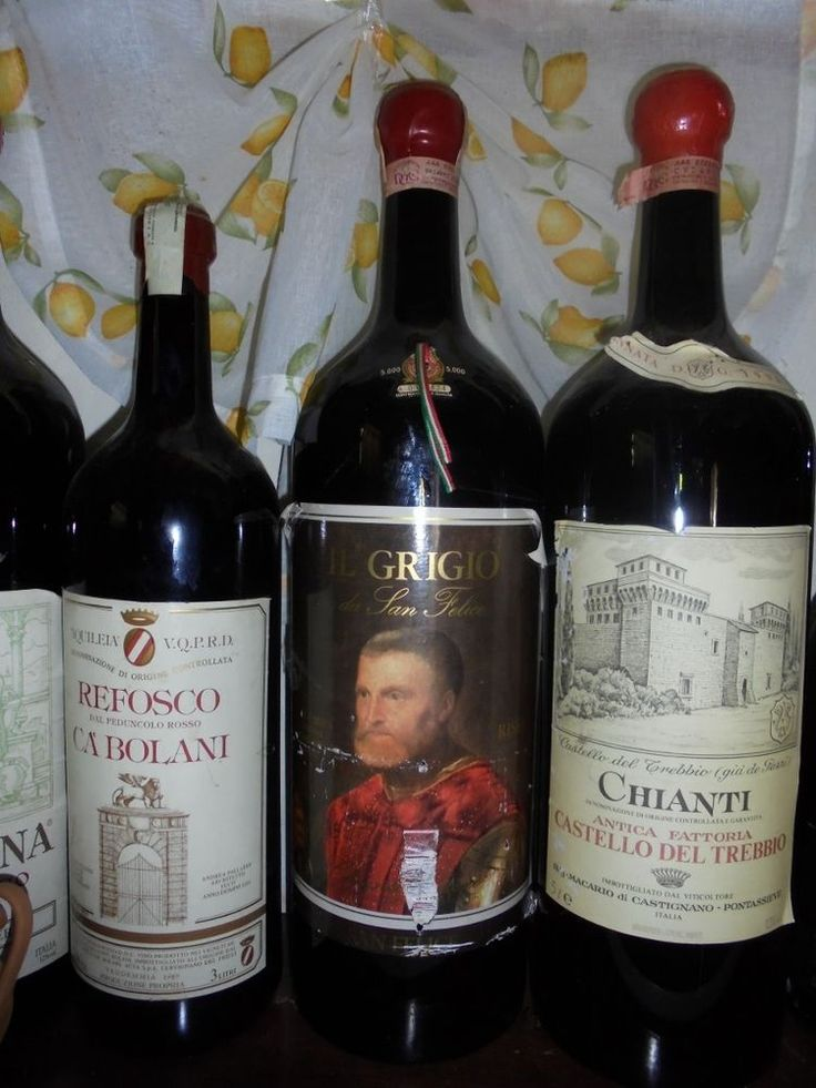 Rehoboam 5 lt - Il Grigio San Felice - Chianti Classico Riserva 1989 -vino-wine