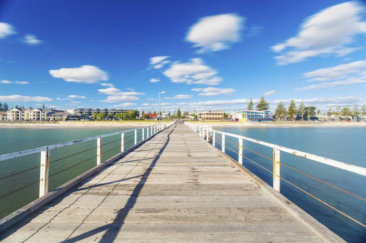Glenelg's jetty in #Adelaide