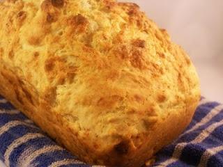 Feta Rosemary Beer Bread
