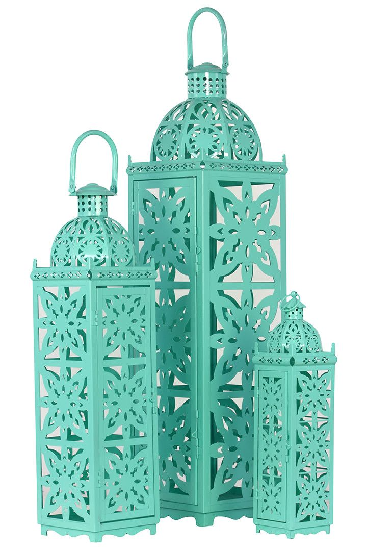 Marrakech Candle Lantern Set
