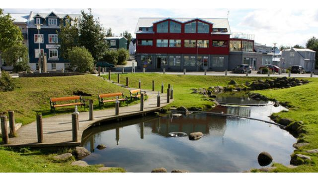 Stunning private apartment in the heart of Hafnarfjörður, Iceland. Our lovely home here is bright, spacious and beautiful. This pond is only a short distance away. Click the link to see more of this incredible apartment, and sign up today with Love Home Swap. https://www.lovehomeswap.com/home-exchange/iceland/hafnarfjorur-stunning-private-apartment-in-the-heart-of-hafnarfjorur