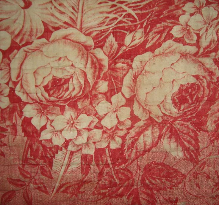 antique french fabric