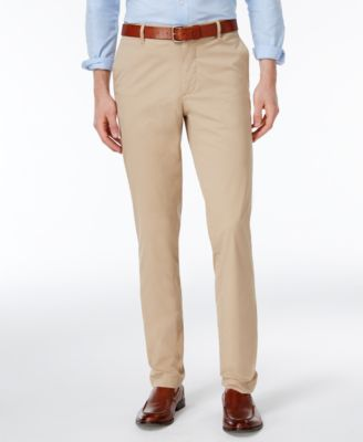 Lacoste Men's Slim-Fit Twill Pants