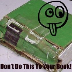 Easy Book Repairs you can do by yourself:
