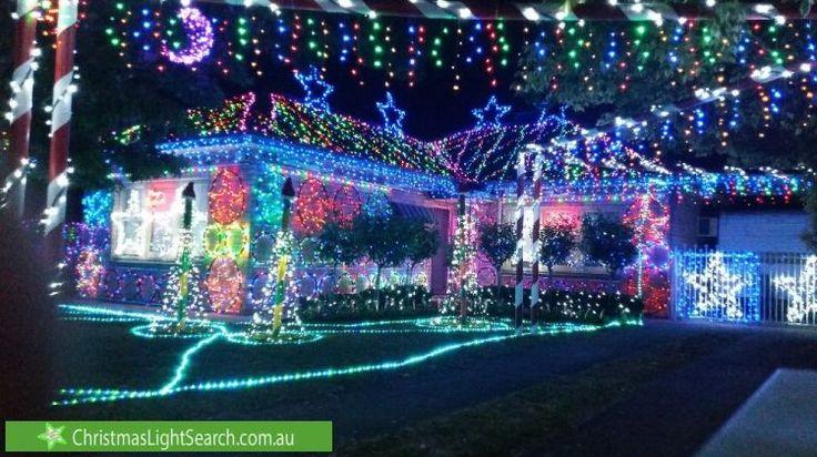 Christmas Lights in Netley, SA. http://xmaslights.co/netley