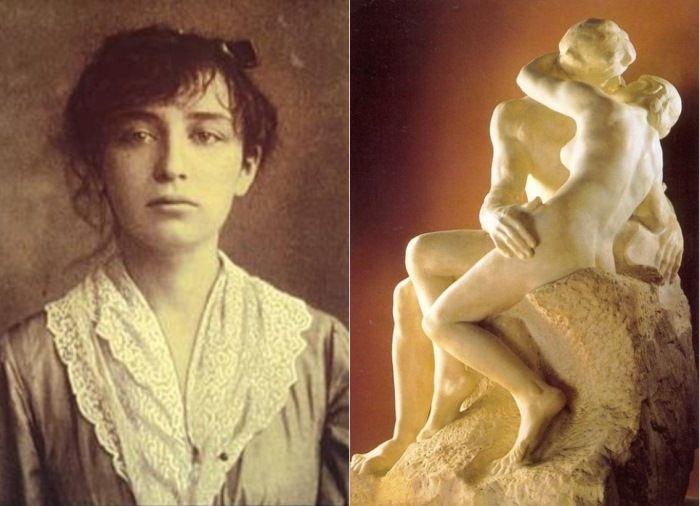 Слева – Камилла Клодель. Справа – Огюст Роден. Поцелуй, 1886. Париж, Музей Родена | Фото: rodin-web.org