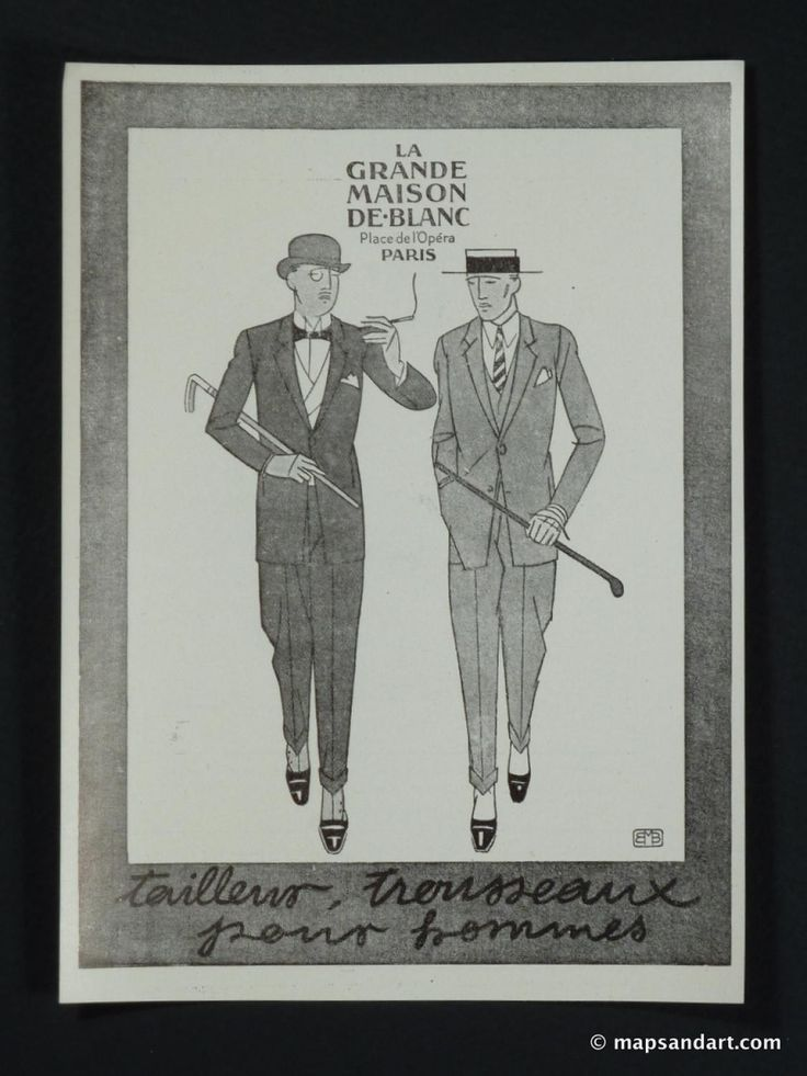 1920s Men Fashion | Double click on above image to view ...