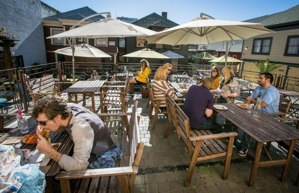 Brazil Cafe: promising al fresco dining option, at site of eVe & Brasa (University Ave at Milvia, Berkeley)