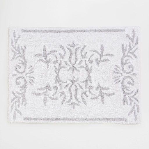 Image of the product COTTON BATH MAT WITH DESIGN