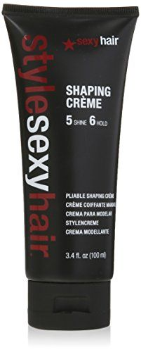 Sexy Hair Style Shaping Creme Pliable 3.4 Ounce