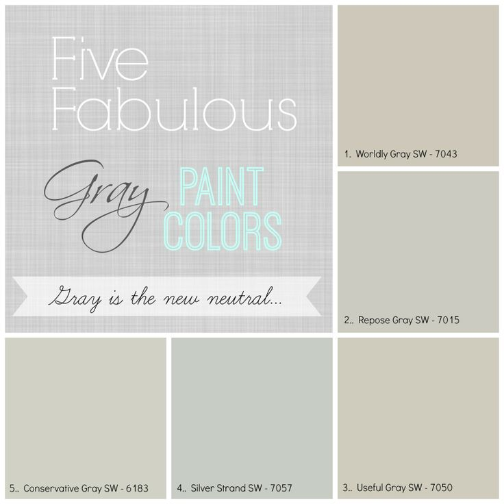 Sherwin Williams Color Favorites: 10 Best Ideas About Neutral Gray Paint On Pinterest