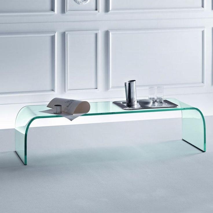 Ponte Glass Coffee Table