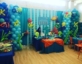 Finding Nemo Birthday Party Ideas | Photo 1 of 18