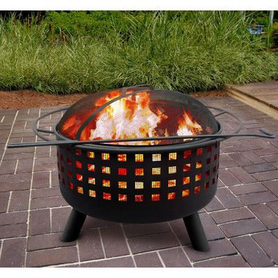 Found it at Wayfair - City Lights Memphis Wood Burning Fire Pit