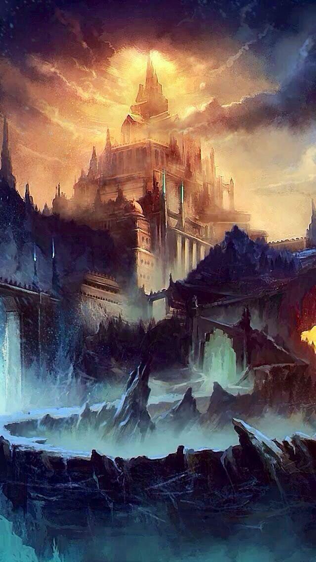 Castle concept   by unknown ~ { concept art }
