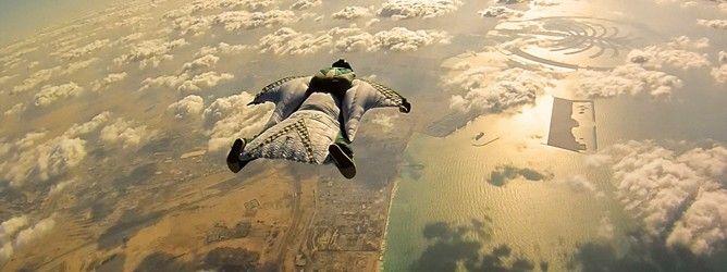 A evolução do wingsuit - o sonho de voar