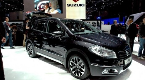 Suzuki SX4 seen in a new avatar at 2013 Geneva Motor Show | Rush Lane
