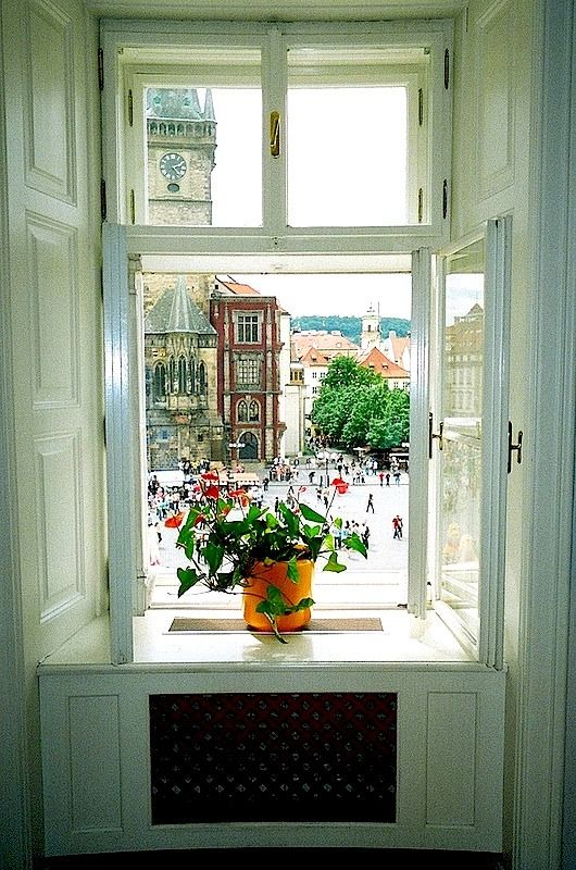 Prague window at Stare Mesto | by © susan xie