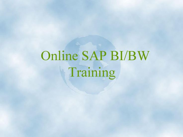 Vteaminc offers  SAP BI and SAP BW with the best interactive real time training with one of the best trainers of IT industry. SAP BI is a module of SAP's NetWeaver called Business Intelligence. we offers the SAP Business Intelligence online training by very experienced trainers.