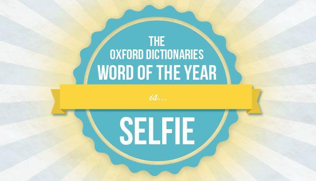 Oxford Dictionaries word of the year: selfie