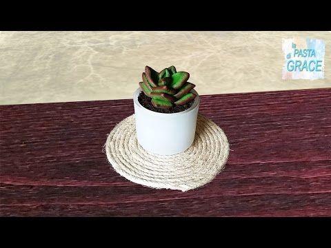 Piantina grassa con la pasta di mais video tutorial La pasta di Grace - YouTube