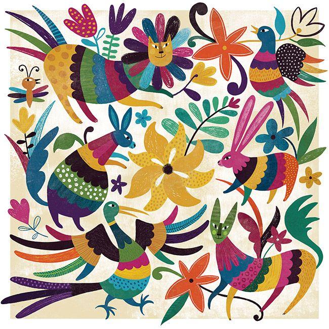 Flavia Zorrilla Drago |Proyecto de artesanías mexicanas (Personal, 2014)