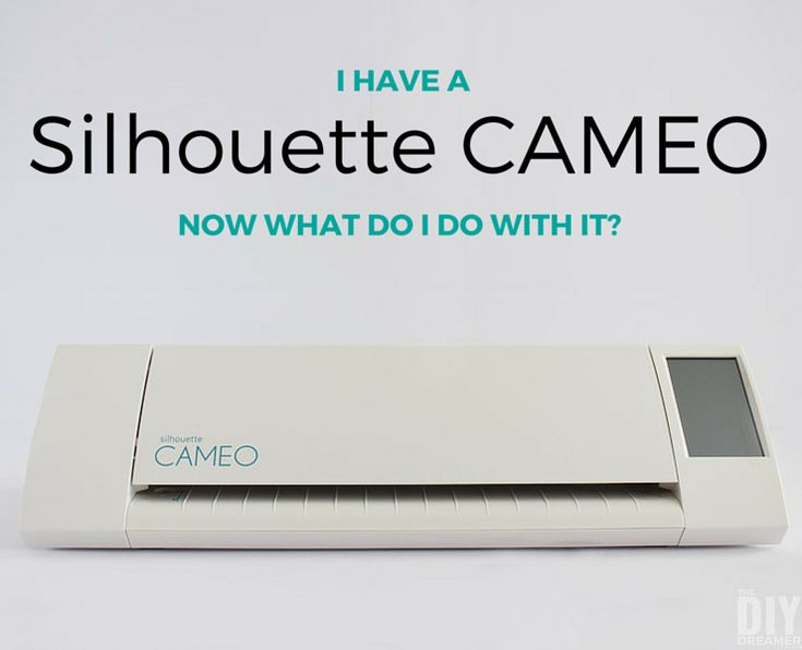 Do you have a Silhouette CAMEO? Is it still sitting in its box? It's time to take it out and learn how to use it! Let's learn together! Ready, set, go!