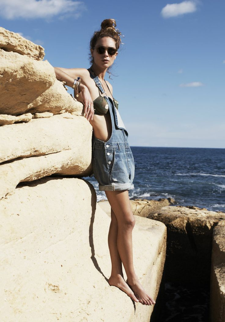 { Madewell Spring 2014 } yes I will have a pair of overalls this summer, belly and all