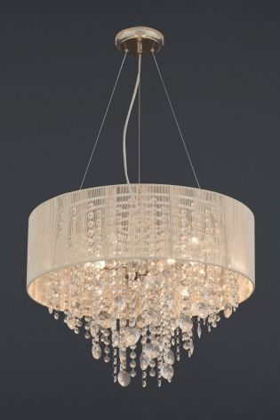 Buy palazzo 3 light glass and string chandelier from the next uk online shop
