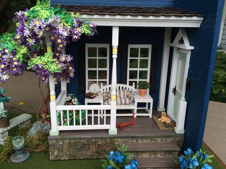 "Dollhouse Miniature Scene - ""Sunday Morning on the Farm"""