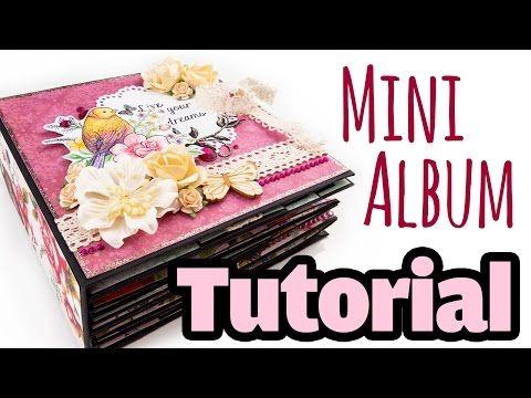 Mini album 8 x 8 'Dear Jane' - YouTube