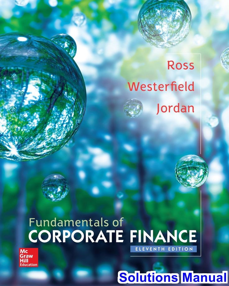 Fundamentals of Corporate Finance 11th Edition Ross Solutions Manual - Test bank, Solutions manual, exam bank, quiz bank, answer key for textbook download instantly! #CorporateFinance