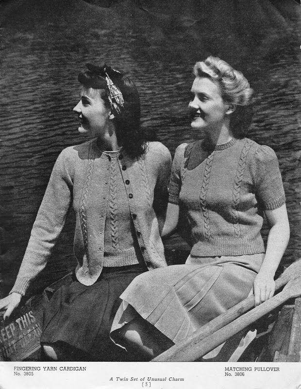 45 besten Vintage Cardigan Edit Bilder auf Pinterest | Strickmuster ...