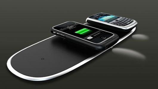 The Power Mat - Wireless Charging. The future.