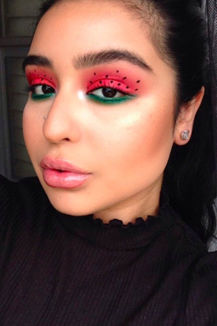 The Juiciest New Summer Beauty Trend Is Watermelon Makeup