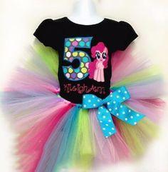 como  hacer tutus de colores para niña