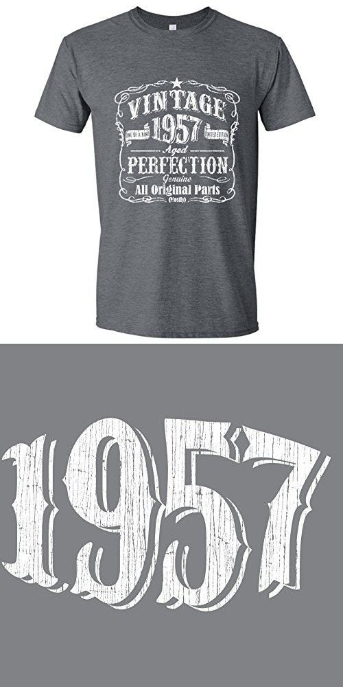 Feisty And Fabulous Vintage 60th Birthday Husband Mens Gifts Gray Large