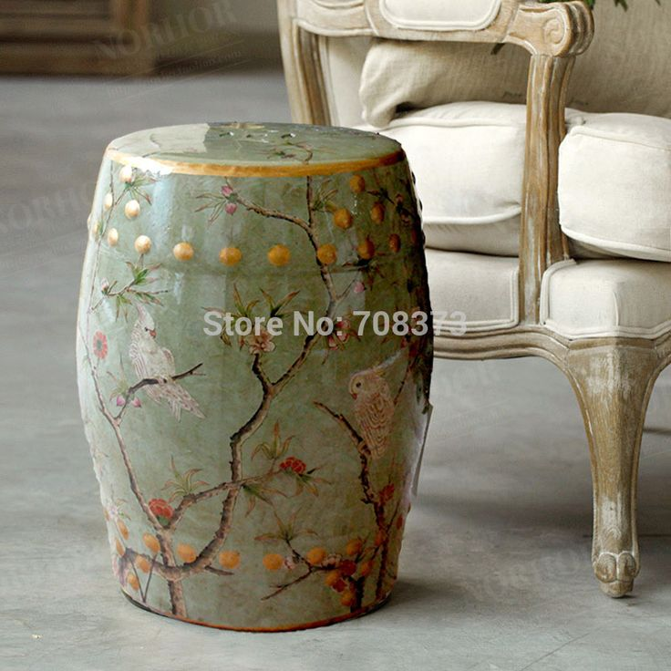 Find More Information about Modern chinese tall parrot ceramic stool for garden and  home furniture accessories,High Quality ceramic basin,China stool furniture Suppliers, Cheap stool cushion from Jingdezhen Youngs Ceramic Co., Ltd. on Aliexpress.com