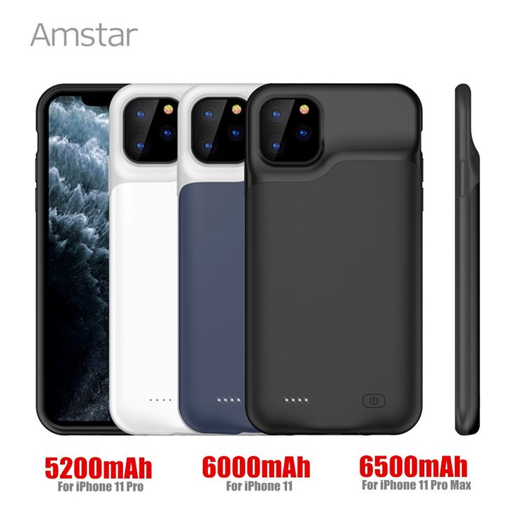 Amstar battery charger cases for iphone 11 pro max