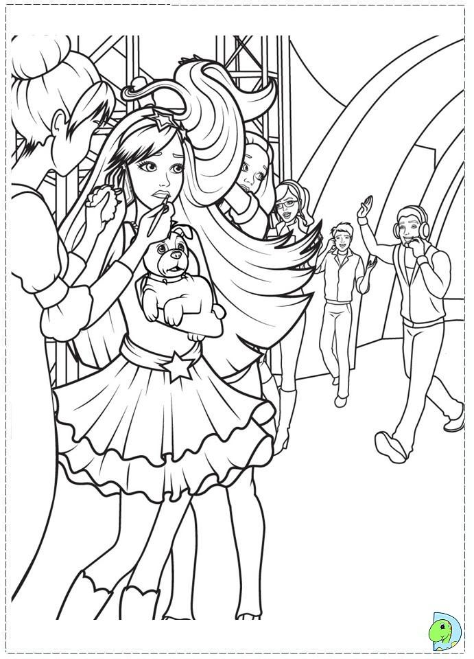 barbie the princess and the popstar coloring pages - barbie princess and the popstar coloring pages google