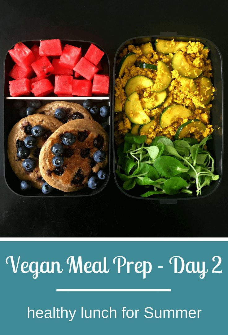 4-Day Vegan Meal Prep for Summer (Quick & Easy)