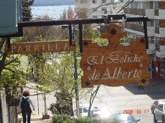 """When in Bariloche you must try the local roasted lamb. The best place to go is El Boliche de Alberto. You'll get a traditional """"parillada"""" (BBQ) with all the trimmings... good stuff!"""