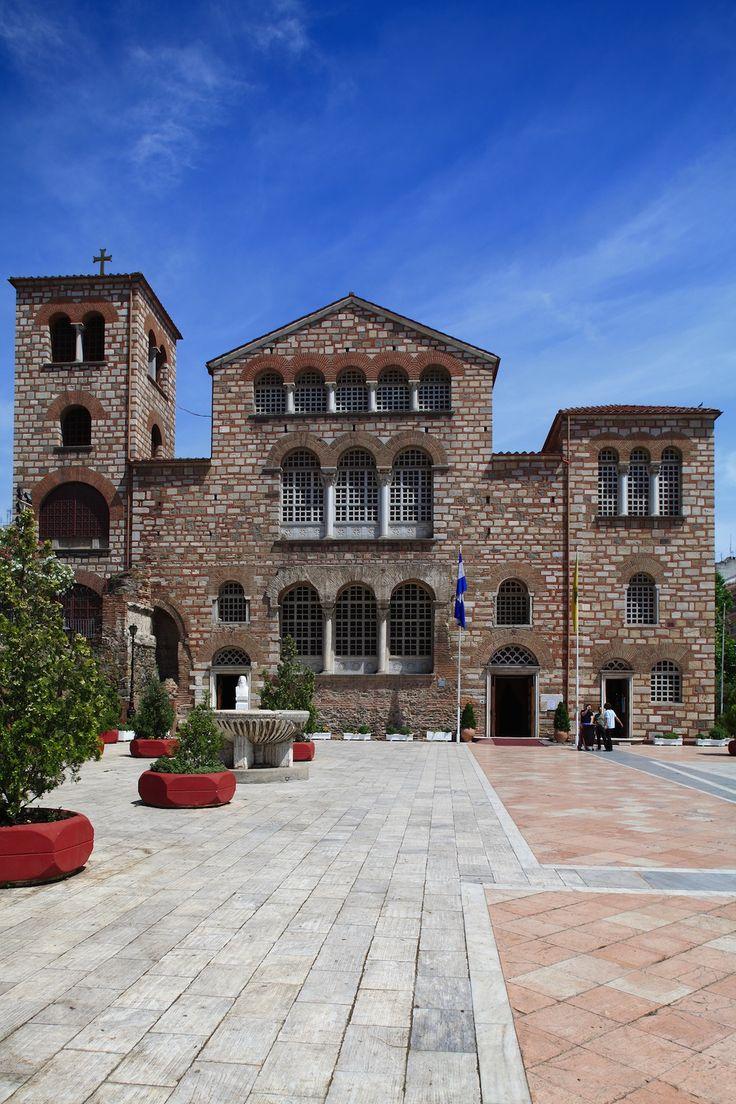Agios Dimitrios church in Thessaloniki